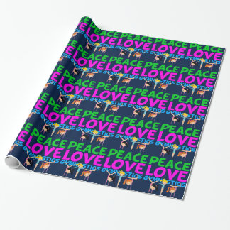 Gymnastics Girls Wrapping Paper