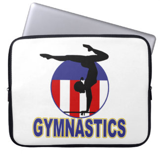 Gymnastics Hopeful Laptop Sleeve