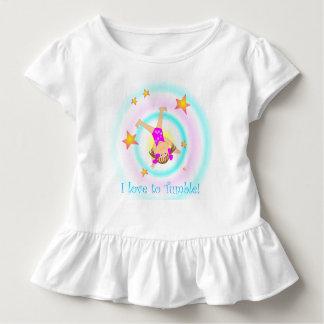 Gymnastics - I love to tumble! Toddler T-Shirt