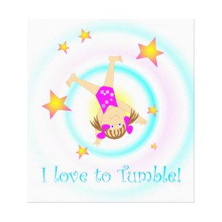 Gymnastics - I Love to Tumble Wall Art
