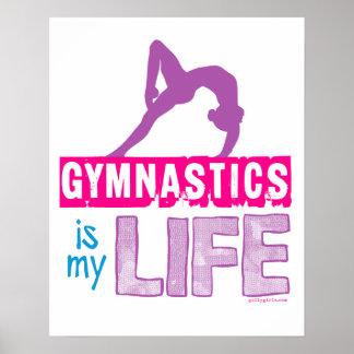 Gymnastics Is My Life Poster