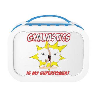 Gymnastics is my Superpower! Lunch Box
