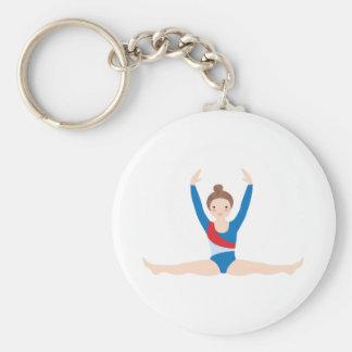 Gymnastics Key Ring