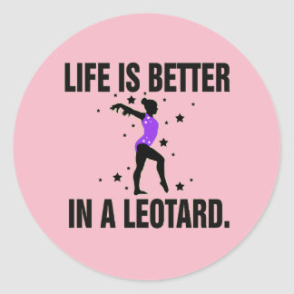 Gymnastics Leotard Stickers
