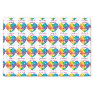 Gymnastics - Love to Tumble by Bella Tissue Paper