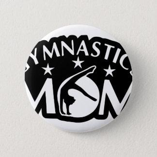 Gymnastics_Mom 6 Cm Round Badge
