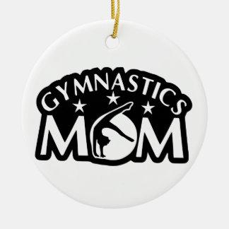 Gymnastics_Mom Ceramic Ornament