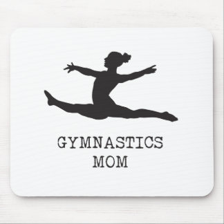 Gymnastics Mom Mouse Pad