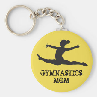 Gymnastics Mum Keychain