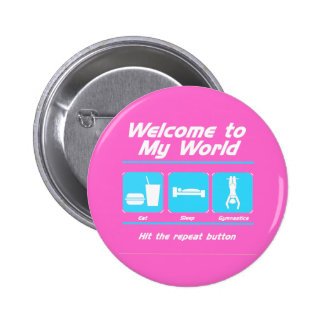 Gymnastics My World Buttons