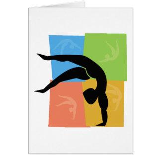 Gymnastics notecards cards
