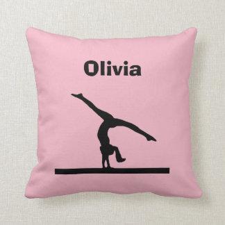 """Gymnastics"" Personalised Pillow"