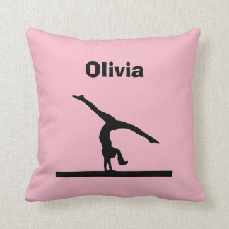 """Gymnastics"" Personalized Pillow"