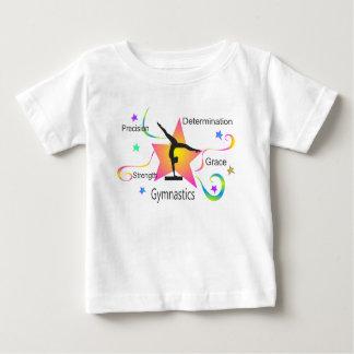 Gymnastics - Precision Strength Determination Grac Baby T-Shirt