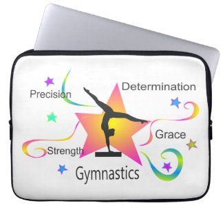 Gymnastics - Precision Strength Determination Grac Laptop Sleeve