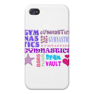 Gymnastics Repeating iPhone 4 Case