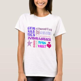 Gymnastics Repeating T-Shirt