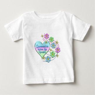 Gymnastics Sparkles Baby T-Shirt