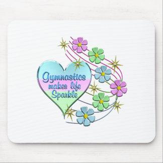 Gymnastics Sparkles Mouse Pad