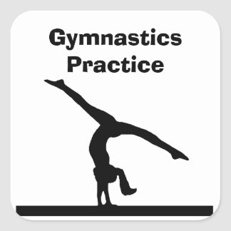 """Gymnastics"" Stickers"