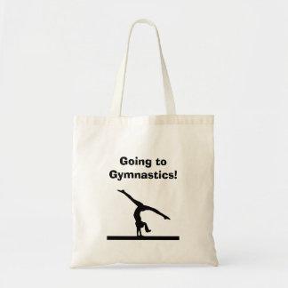 """Gymnastics"" Tote Bag"