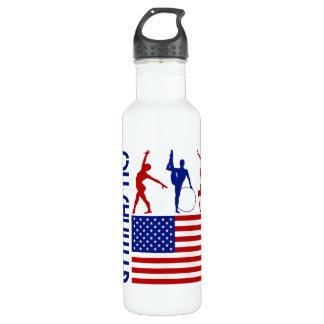 Gymnastics United States 710 Ml Water Bottle