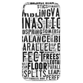 Gymnastics Word Cloud Tumbling Case For The iPhone 5