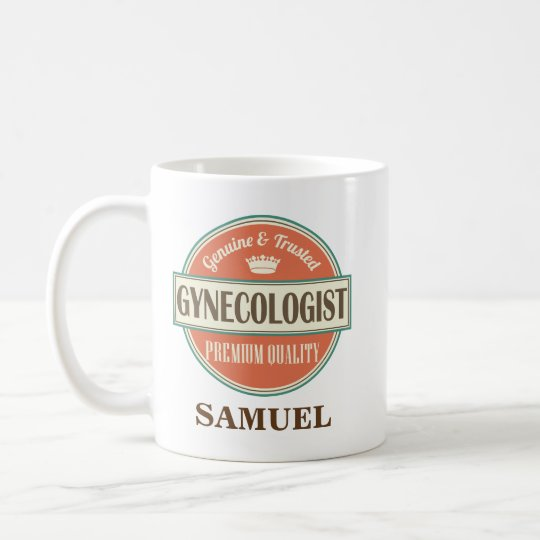 Gynaecologist Personalised Office Mug Gift