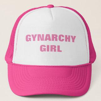 GYNARCHY GIRL TRUCKER HAT