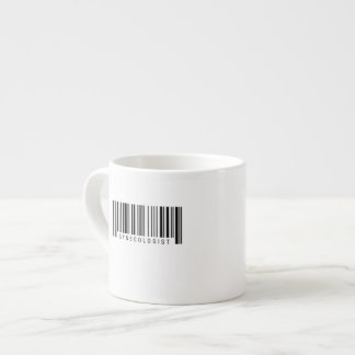 Gynecologist Barcode Espresso Cup
