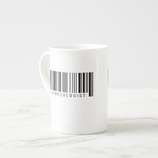 Gynecologist Barcode Tea Cup
