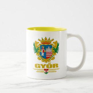 Gyor COA Two-Tone Coffee Mug