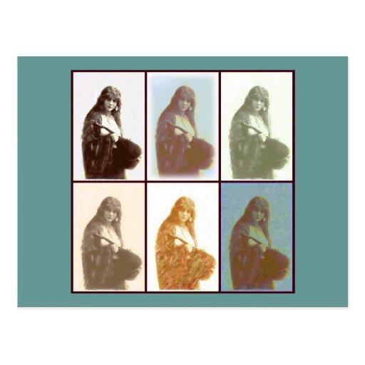 Gypsies 6 postcard