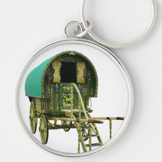 Gypsy bowtop caravan key ring
