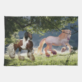 Gypsy Cob Stallions Tea Towel