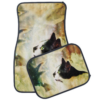 Gypsy Da Fleuky Cat and the Kitty Whisker Wishes Car Mat