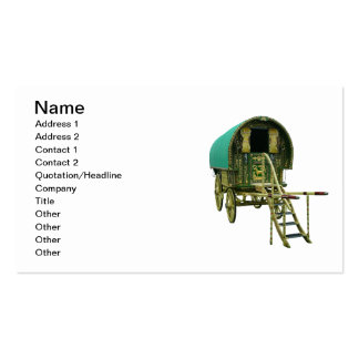 Gypsy door detail pack of standard business cards