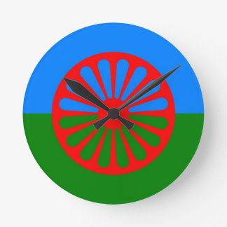 gypsy flag clock
