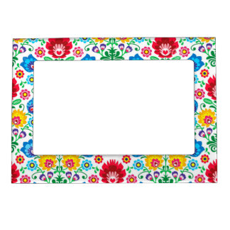 Gypsy Floral Picture Frame