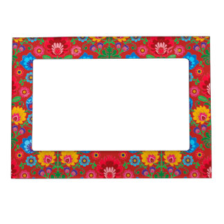 Gypsy Floral Red Picture Frame