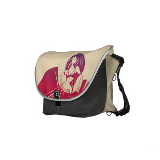 Gypsy Flower Power Messenger Bags