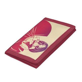 Gypsy Flower Power Tri-fold Wallet