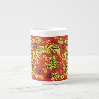 Gypsy Folk Art Bone China Mug