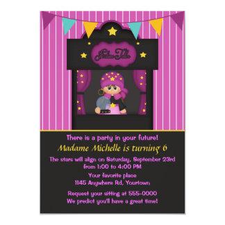 Gypsy Fortune Teller Birthday 13 Cm X 18 Cm Invitation Card