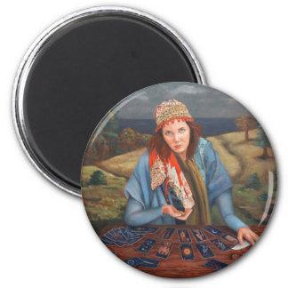 Gypsy Fortune Teller Magnet Std