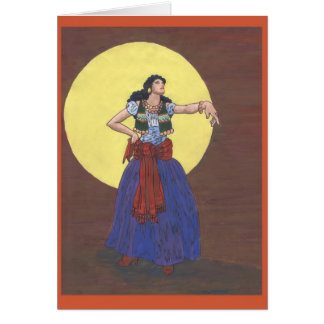 Gypsy Girl Card