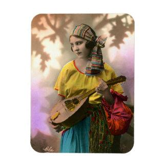 Gypsy Girl Photo Magnet