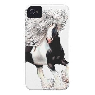 Gypsy Horse Casanova iPhone 4 Case-Mate Cases