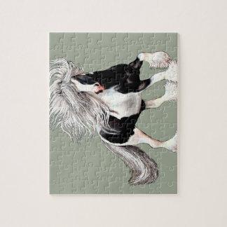 Gypsy Horse Casanova Jigsaw Puzzle