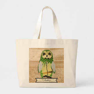 Gypsy Jade Owl Personalized Bag